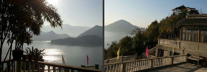 紹興縣平水湖畔山莊