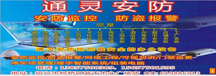 绍兴市越城区通灵电脑服务中心