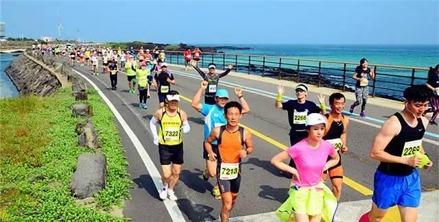 2016济州岛马拉松,5.29我想跟你约个跑