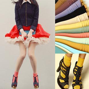 韩版时尚堆堆袜设计,潮人必备