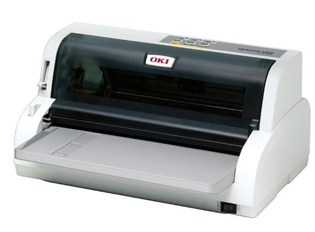 oki 5200f+平推 针式打印机