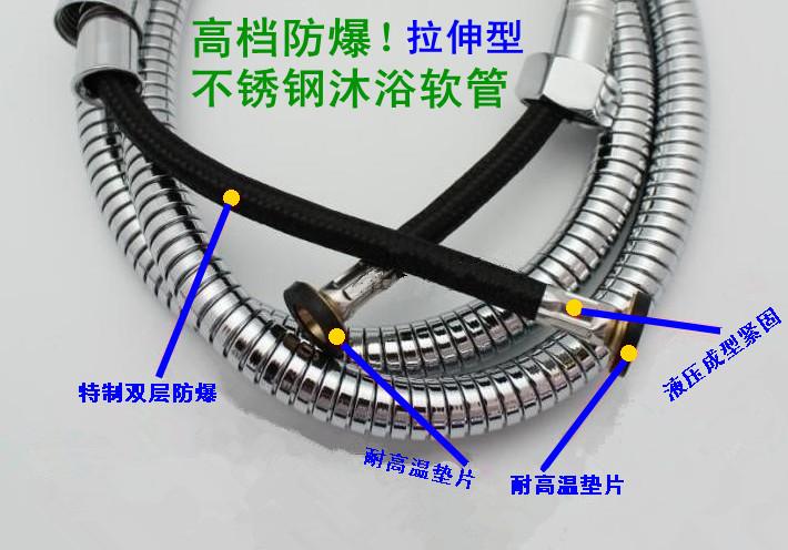 不锈钢波纹管 金属软管 高压管 进水管 冷热水管 进水管水管 ****