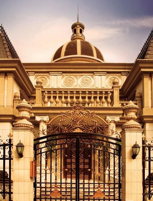 财富公馆·御河城堡:别墅中的精品之作; 欧式风格; 中国最权威别墅