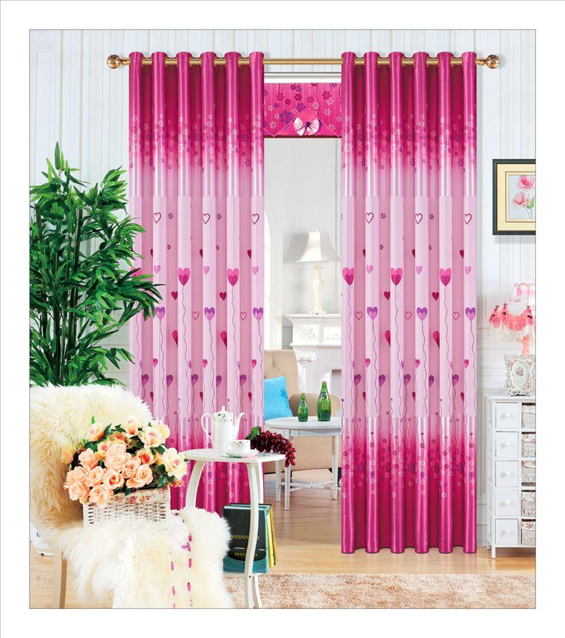 新款印花窗帘布 客厅窗帘卧室窗帘 遮光效果好的窗帘布