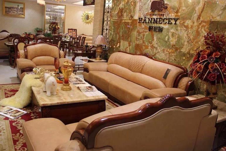 气派奢华欧式沙发