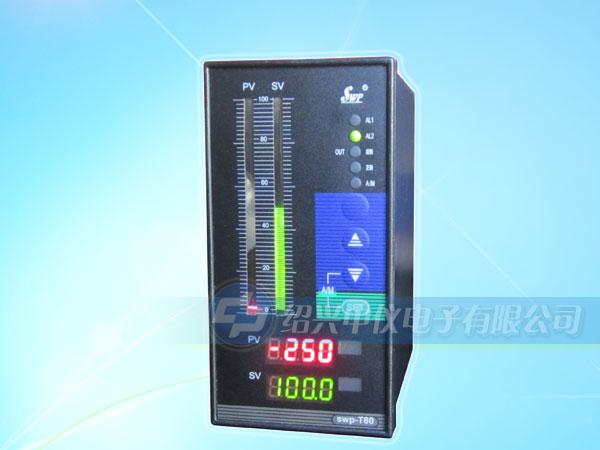 选型备注:   1、同种分度号,选型代码和仪表编程代码不同,在仪表设定时请注意。   2、四限控制或四限报警输出为四个继电器控制输出,用户可自行修改内部参数以设定需要的控制或报警方式。(四限控制/报警仅T.C80、S80和C90系列提供,2H代表两个上限控制/报警,2L代表两个下限控制/报警)。   3、常用型号:SWP-T803。 液位控制仪输入类型表