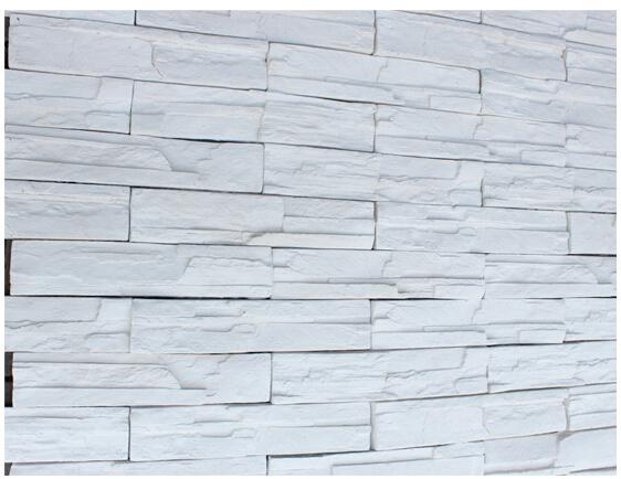 人造文化石 白色砌岩石 石材背景墙砖3058