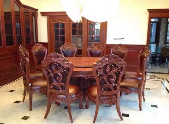 缅甸花梨印尼进口红木欧式收藏家具saintworld圣德