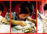 幼儿美术 (幼儿油画棒、幼儿版画、泥塑、幼儿线描、幼儿写生、幼儿综合手工创作、幼儿水粉、特色水墨等)           (适合幼儿园中大班)