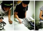特色水墨(水墨画、彩墨画、山水花鸟)  (适合8周岁以上)
