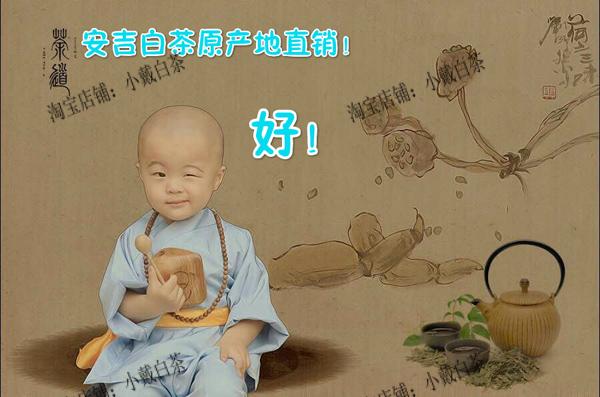 萌萌小和尚为您推荐 夏季特饮 安吉白茶 qq:1679076785 淘宝搜小戴