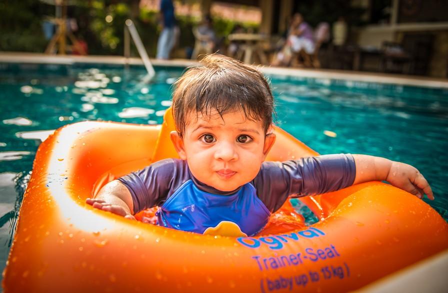钢架式婴儿游泳池