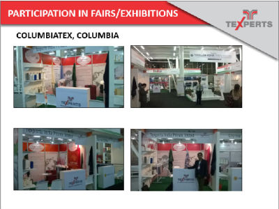 PARTICIPATION IN FAIRS/EXHIBITIONS