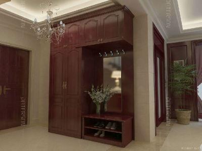 欧尚122型门厅柜(欧洲红木)
